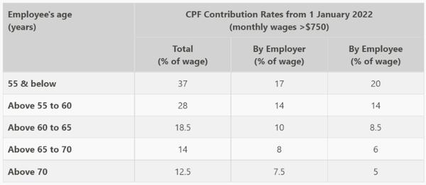 【給与/ボーナス】CPF,SDL,CDAC,FWL,AWSなどシンガポールの基本情報